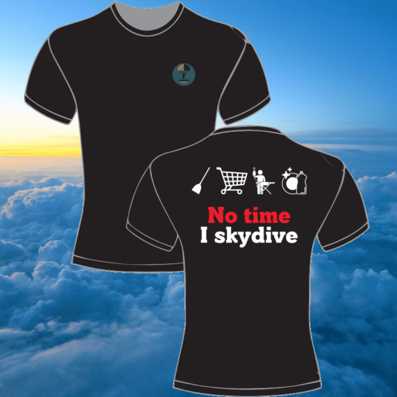 T-shirt Homme Skydive