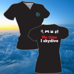 T-shirt Femme Skydive