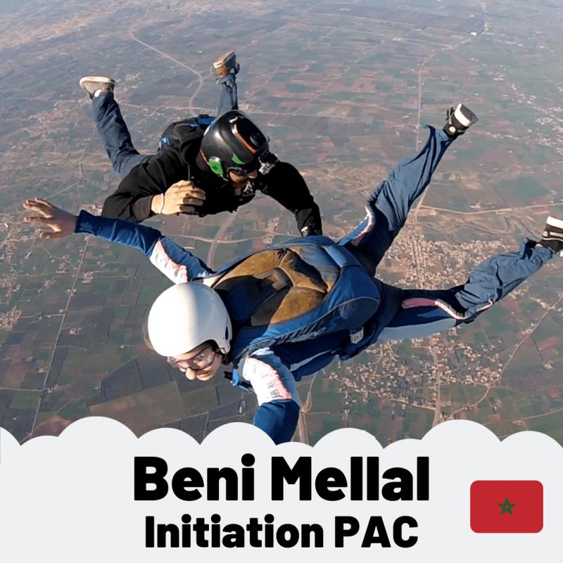 Saut d'initiation PAC Benni Mellal